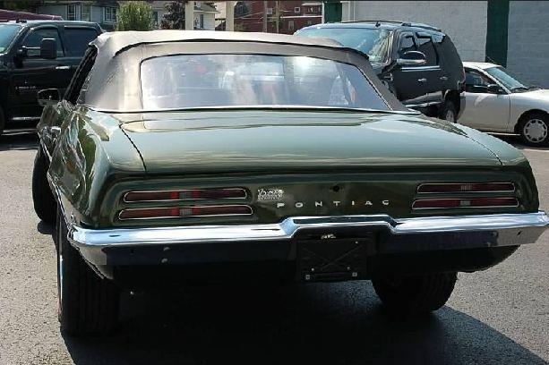 1969 Pontiac Firebird CONVERTIBLE - Malone NY