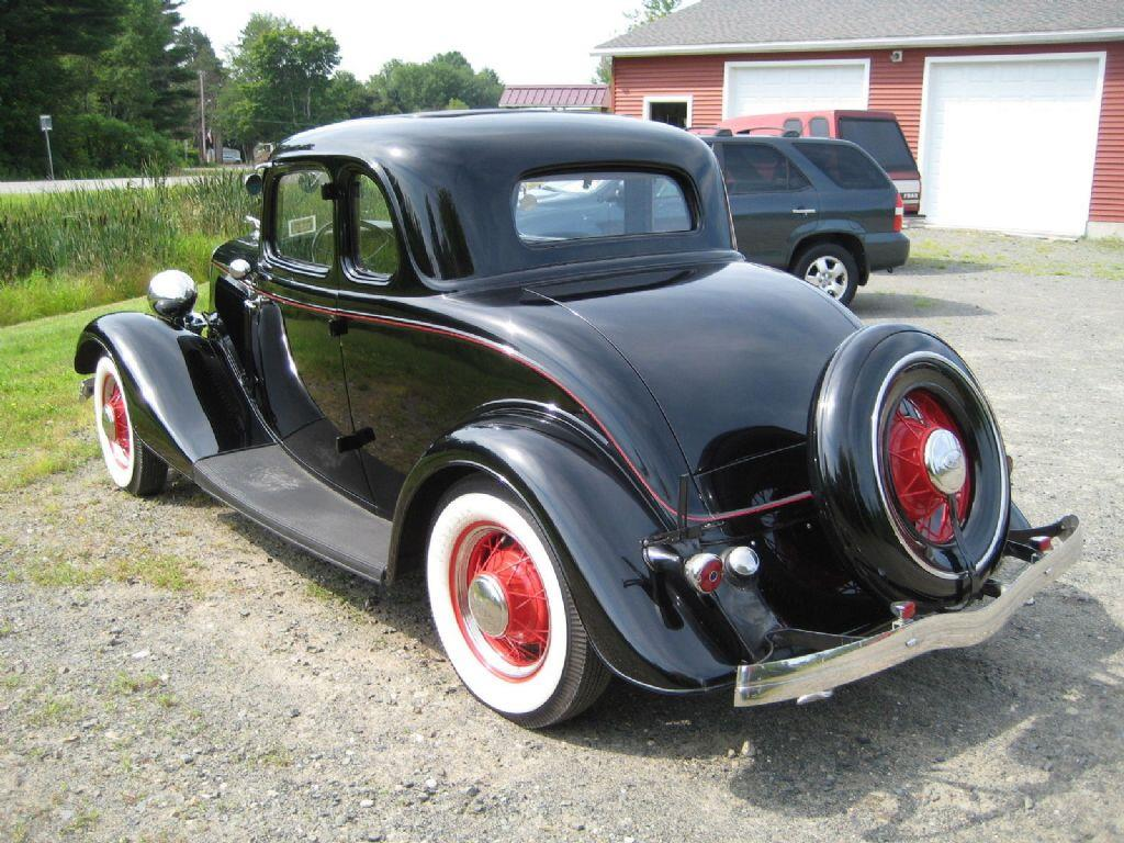 1934 ford 5 window coupe deluxe flathead v8 in malone ny