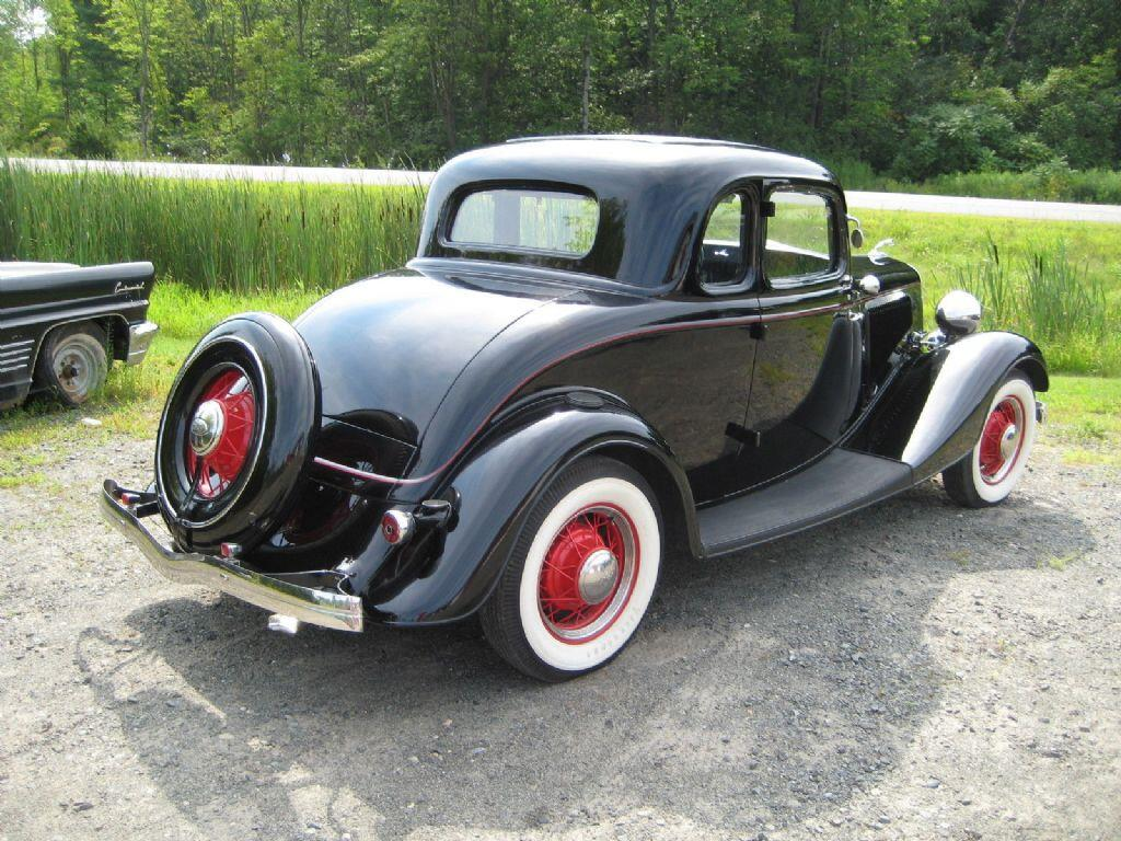 1934 ford 5 window coupe deluxe flathead v8 in malone ny for 1934 5 window ford coupe