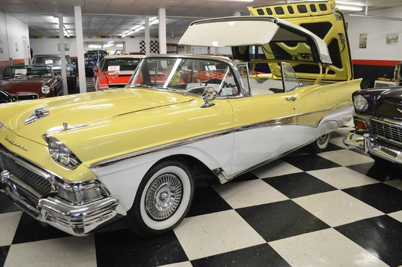 1958 Ford Fairlane 500 Skyliner Retractable - Malone NY