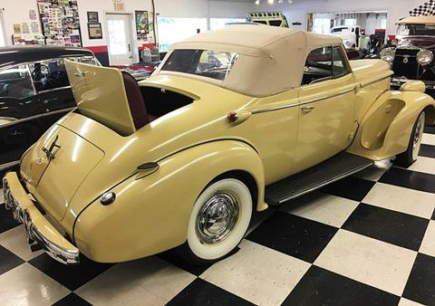 1938 Oldsmobile L-38 CONVERTIBLE RUMBLE SEAT C