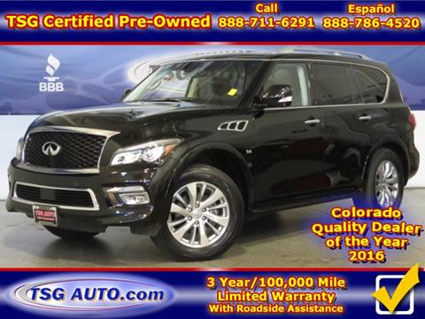2017 Infiniti QX80 for sale in Parker, CO