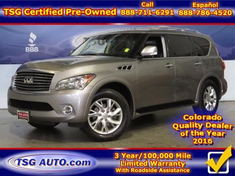 2013 Infiniti QX56 for sale in Parker, CO