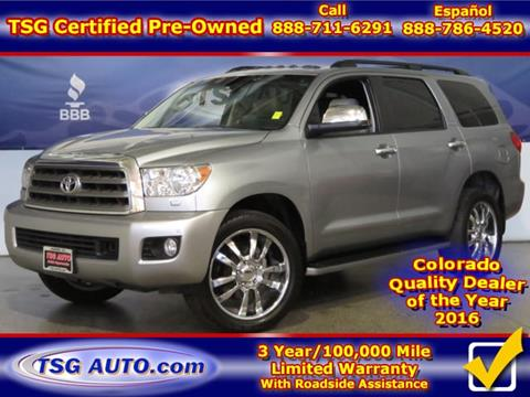 2014 Toyota Sequoia for sale in Parker, CO