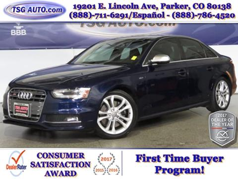 2013 Audi S4 for sale in Parker, CO