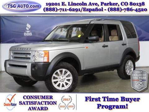2008 Land Rover LR3 for sale in Parker, CO