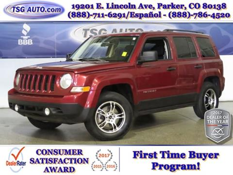 2015 Jeep Patriot for sale in Parker, CO