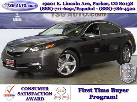 2014 Acura TL for sale in Parker, CO