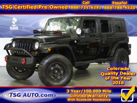 2013 Jeep Wrangler Unlimited for sale in Parker, CO