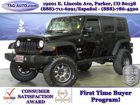 2008 Jeep Wrangler Unlimited for sale in Parker, CO