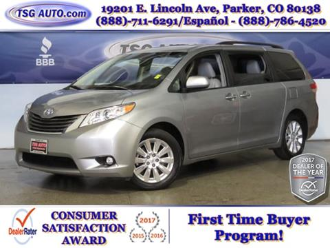 2011 Toyota Sienna for sale in Parker, CO