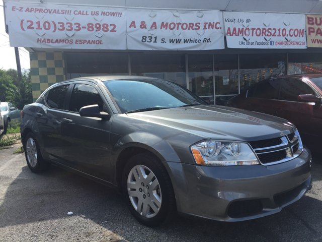 2013 Dodge Avenger SE 4dr Sedan - San Antonio TX