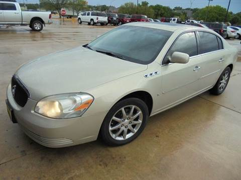 2007 buick lucerne for sale oklahoma. Black Bedroom Furniture Sets. Home Design Ideas