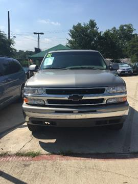 2001 Chevrolet Tahoe for sale in Dallas, TX