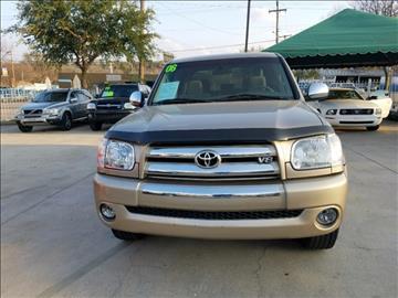2006 Toyota Tundra for sale in Dallas, TX