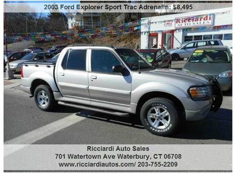 2003 Ford Explorer Sport Trac for sale in Waterbury, CT
