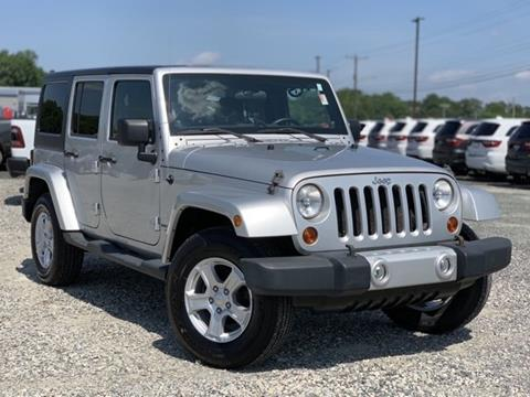 2011 Jeep Wrangler Unlimited for sale in Millsboro, DE