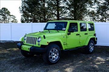 2016 Jeep Wrangler for sale in Millsboro, DE