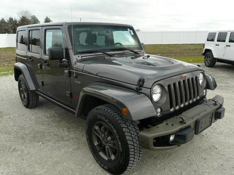 2016 jeep wrangler for sale in delaware. Black Bedroom Furniture Sets. Home Design Ideas