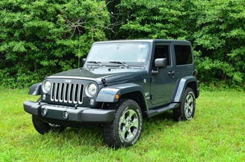 2017 Jeep Wrangler for sale in Millsboro, DE