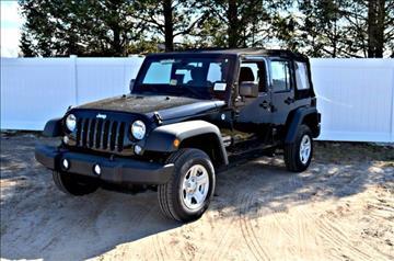 2016 Jeep Wrangler Unlimited for sale in Millsboro, DE