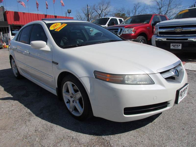2005 ACURA TL 32 4DR SEDAN white 2 owner good history report right color combination for houst