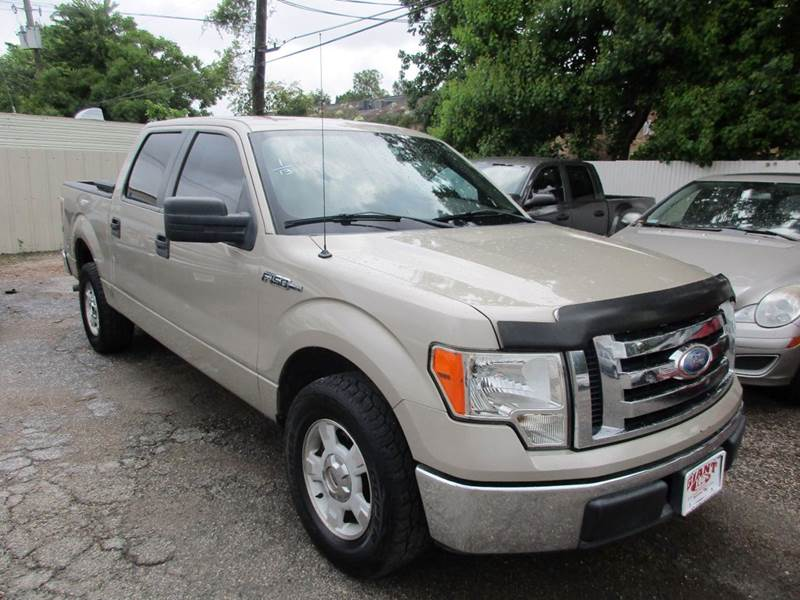 2009 FORD F-150 XLT 4X2 4DR SUPERCREW STYLESIDE tan 1 owner vehicle history w2ith good maintenanc