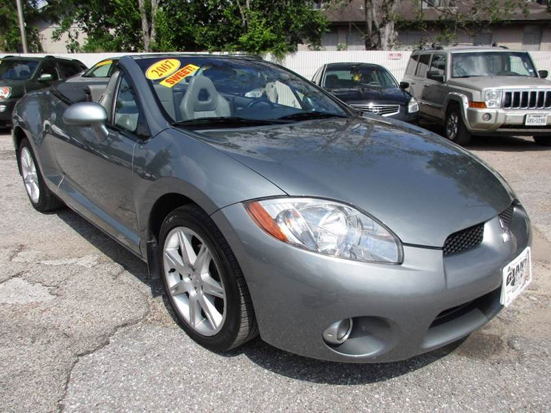 2007 MITSUBISHI ECLIPSE SPYDER GT 2DR CONVERTIBLE 38L V6 5A gray nobody walks is our signatu