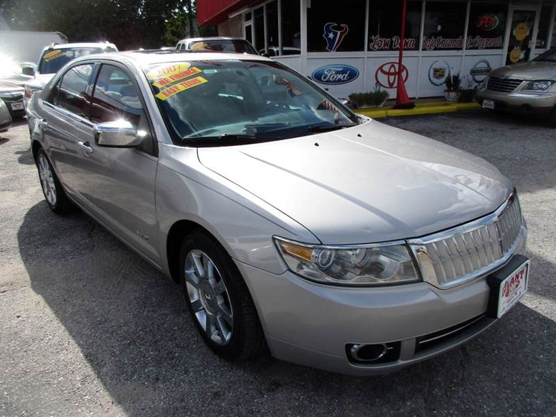 2007 LINCOLN MKZ BASE 4DR SEDAN light sage clearcoat metallic hard to find mkz with good mileage a