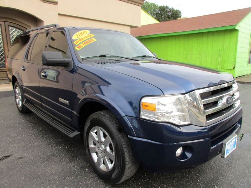 2008 FORD EXPEDITION EL XLT 4X2 4DR SUV dark blue pearl metallicx excellent ride and drive well co