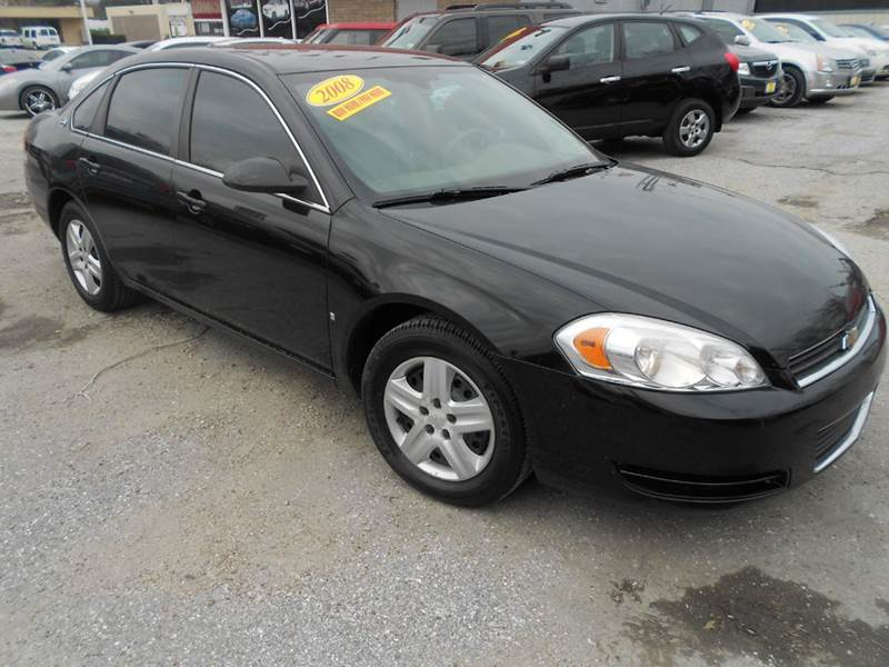 2008 CHEVROLET IMPALA LS 4DR SEDAN black nobody walks is our signature motto and that simply me