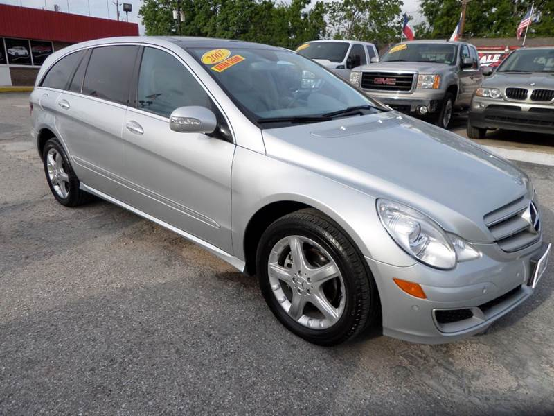 2007 MERCEDES-BENZ R-CLASS R350 AWD 4MATIC 4DR WAGON silver nobody walks is our signature motto