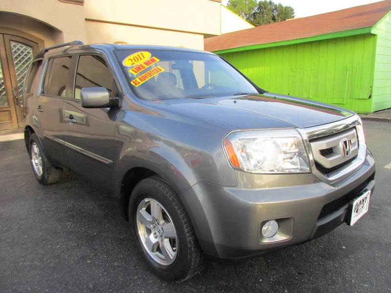 2011 HONDA PILOT EX 4DR SUV polished metal metallic nobody walks is our signature motto and that