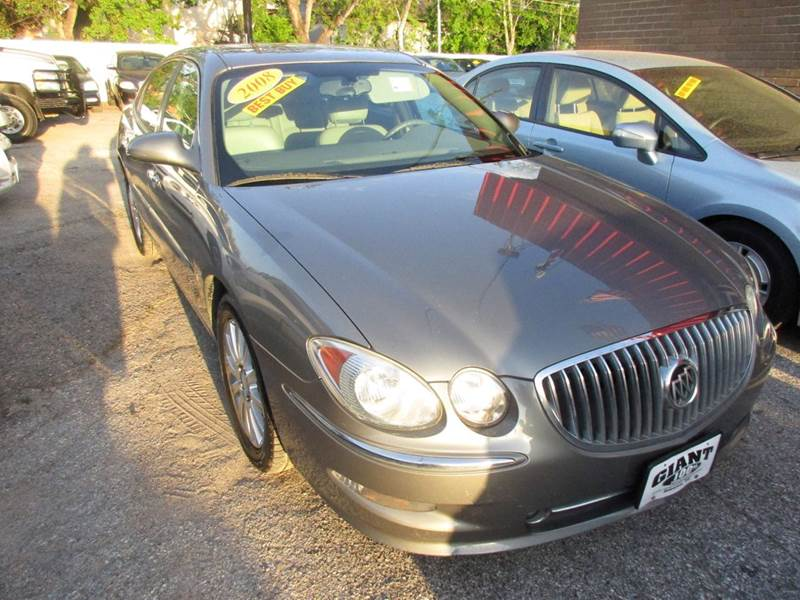 2008 BUICK LACROSSE CXS 4DR SEDAN gray fully loaded full size ride with all the qualities that mak