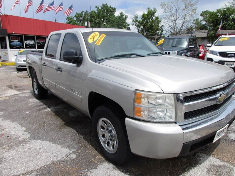 2008 CHEVROLET SILVERADO 1500 LT1 2WD 4DR CREW CAB 58 FT SB silver birch metallic this 2008 che