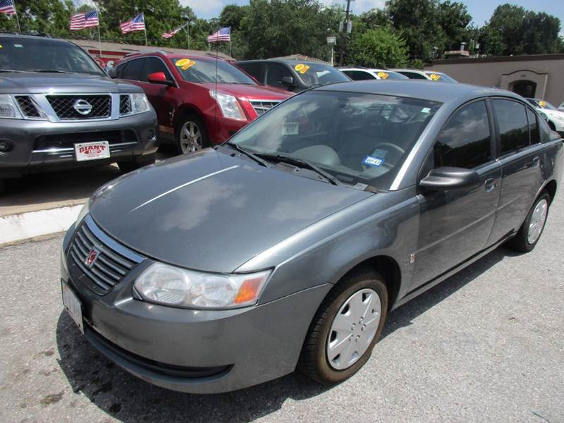 2007 SATURN ION 2 4DR SEDAN 4A gray its very simple  if your looking for very affordable and not