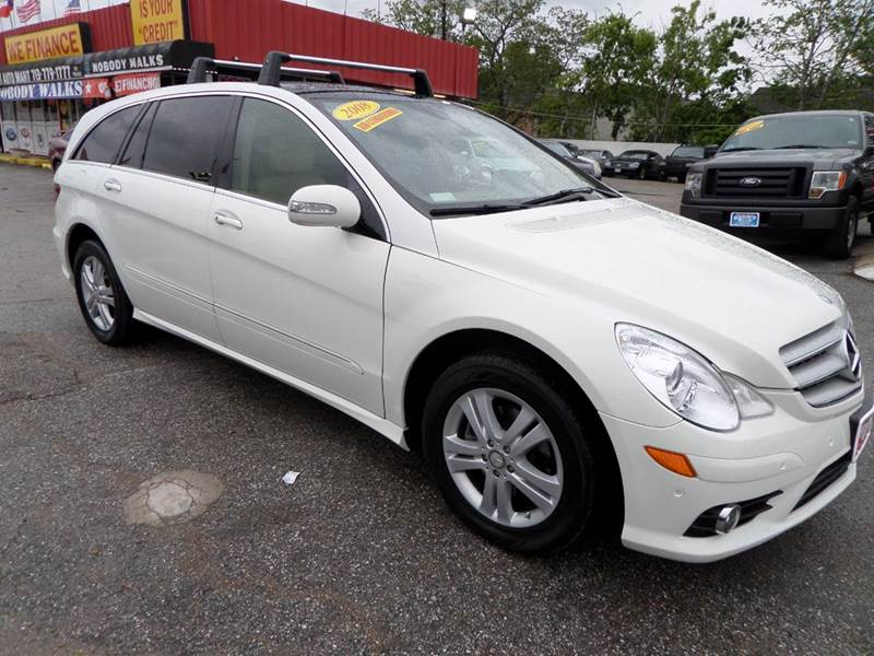 2008 MERCEDES-BENZ R-CLASS R320 CDI AWD 4MATIC 4DR WAGON white average to condition good carfax h