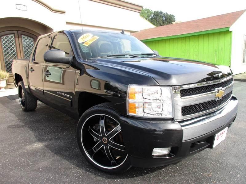 2008 CHEVROLET SILVERADO 1500 LT2 2WD 4DR CREW CAB 58 FT SB black great looking chevy crew cab 4