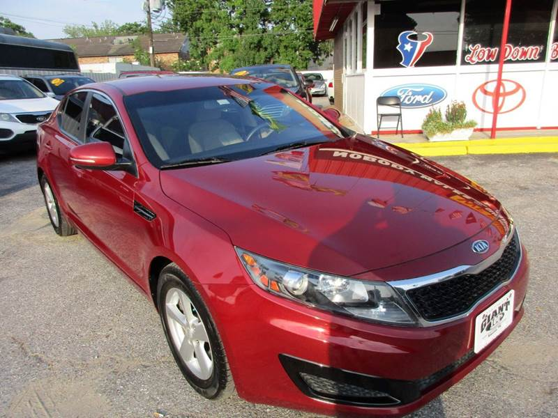2011 KIA OPTIMA LX 4DR SEDAN 6A red 2-stage unlocking doors abs - 4-wheel active head restraint