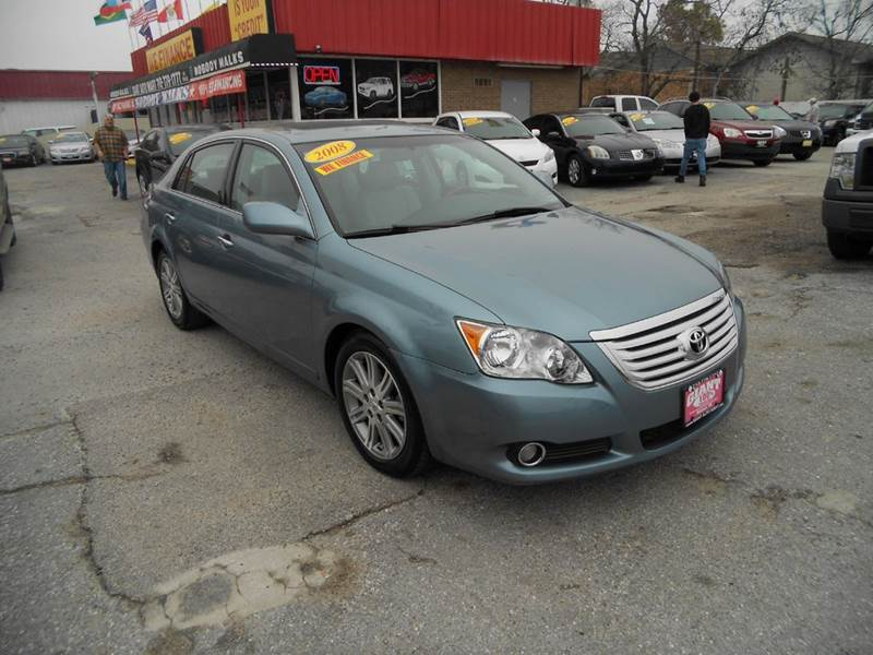 2008 TOYOTA AVALON XLS 4DR SEDAN light blue sunroof -woodgrain leather xls package excellent condi