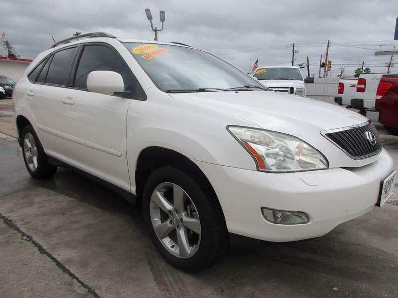 2006 LEXUS RX 330 BASE 4DR SUV white nobody walks is our signature motto and that simply means