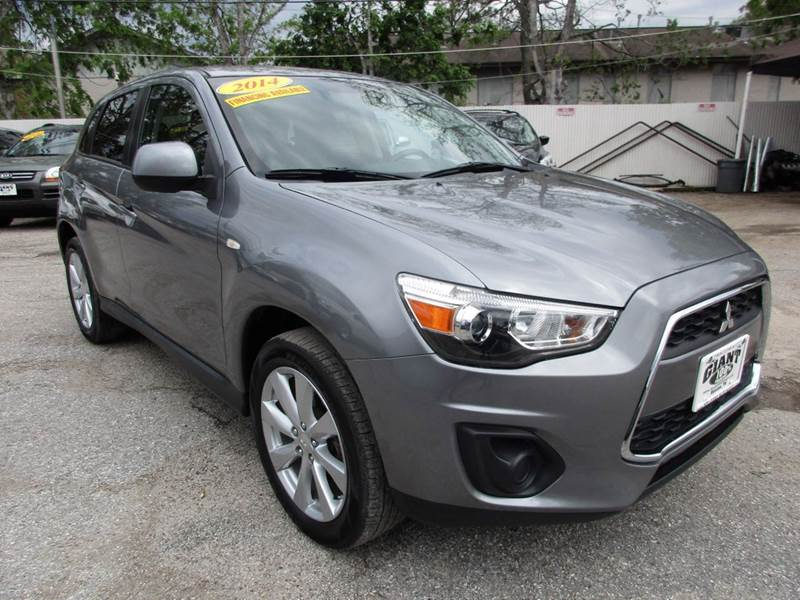 2014 MITSUBISHI OUTLANDER SPORT ES 4DR CROSSOVER CVT gray giant auto mart is a family owned busine