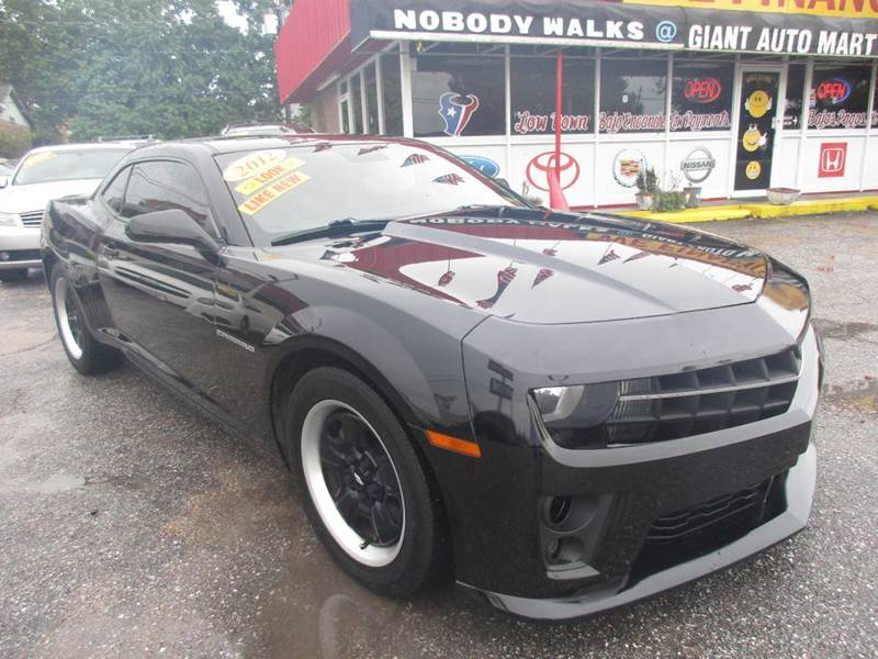 2012 CHEVROLET CAMARO LS 2DR COUPE W2LS black custom interior completea must seelots and lo