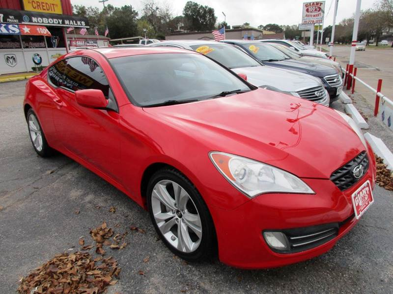 2010 HYUNDAI GENESIS COUPE 38L 2DR COUPE red nobody walks is our signature motto and that simpl