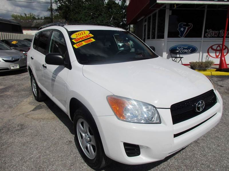 2011 TOYOTA RAV4 BASE 4DR SUV white great value for anyone looking for just about anything when it