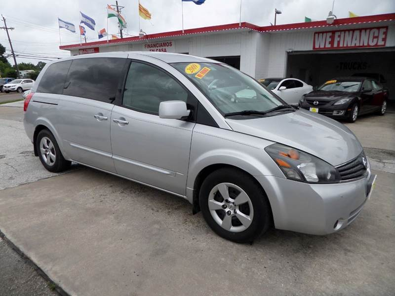 2009 NISSAN QUEST 35 SE 4DR MINI VAN silver nobody walks is our signature motto and that simply