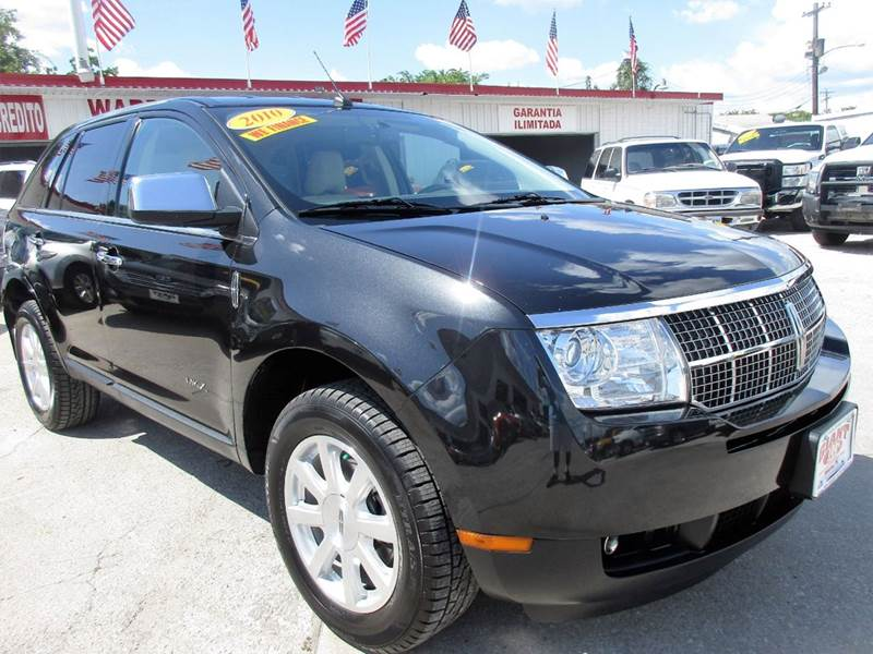 2010 LINCOLN MKX BASE 4DR SUV black pearl clearcoat this is just a beautiful mid size suv both in