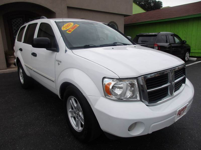2009 DODGE DURANGO SLT 4X2 4DR SUV white nobody walks is our signature motto and that simply me