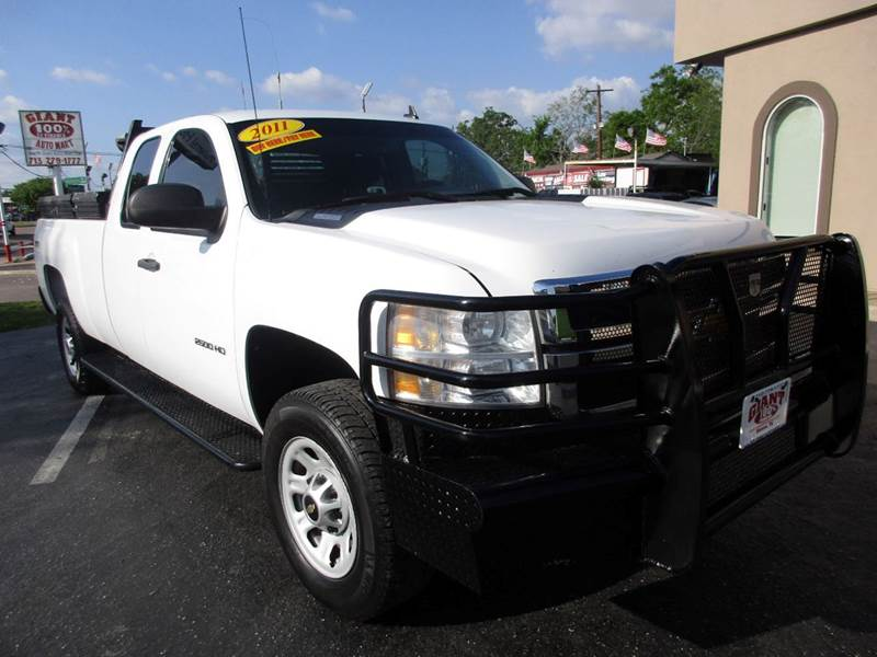 2011 CHEVROLET SILVERADO 2500HD WORK TRUCK 4X4 4DR EXTENDED CAB white quite simply this is a great