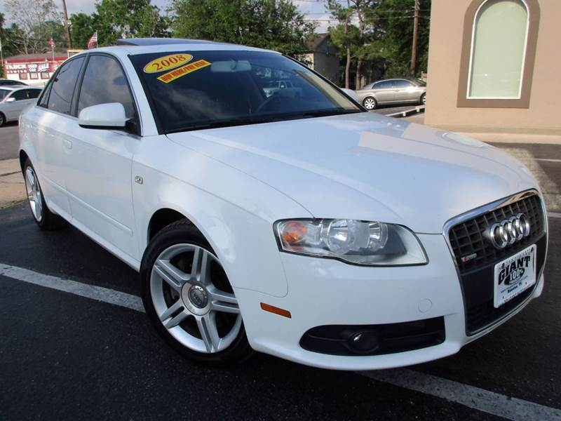 2008 AUDI A4 20T SPECIAL ED 4DR SEDAN 2L I white 2-stage unlocking doors abs - 4-wheel activ